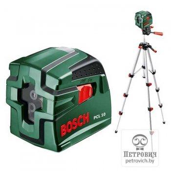 Лазерный уровень Bosch PCL20 со штативом
