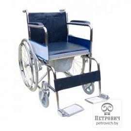 Инвалидная коляска LK 6005-46W с санитарным устройством