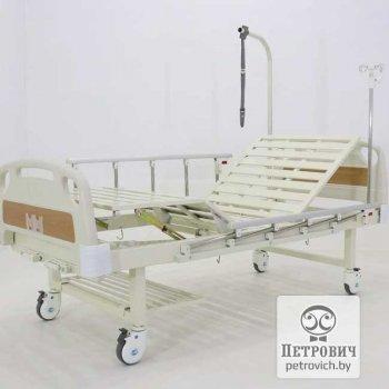 Кровать медицинская 4-х секционная Е-8мм 2014