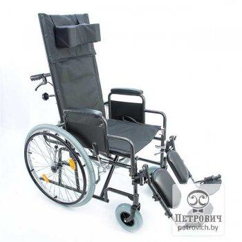 Инвалидная коляска с высокой спинкой FS514A