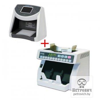 Детектор валют Dors 1200 и Счетчик банкнот Magner 35S в комплекте