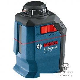 Уровень лазерный BOSCH GLL 2-20 Professional