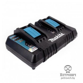 Зарядное устройство на два аккумулятора Makita DC18RD