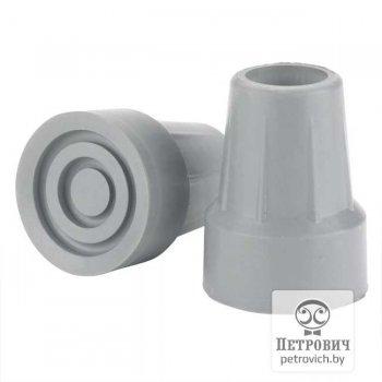 Резиновая насадка для костылей, диаметр 22 мм. (цена за пару)