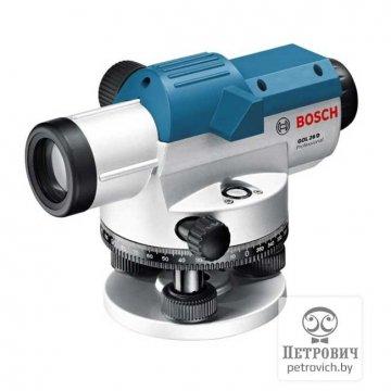 Оптический нивелир Bosch GOL 26D + штатив BT160 + рейка GR500
